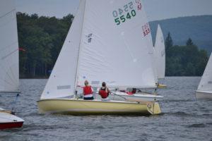Racing Flying Scot Sailboats