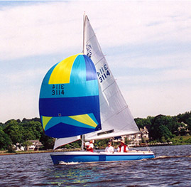 Spinnaker Racing Boats