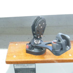 Ronstan Mainsheet Swivel Cleat & Block