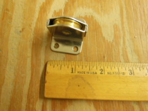 Wire Outhaul Sheave pulley Block