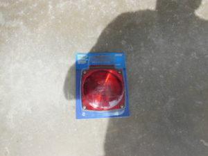 Trailer Light Square Lens
