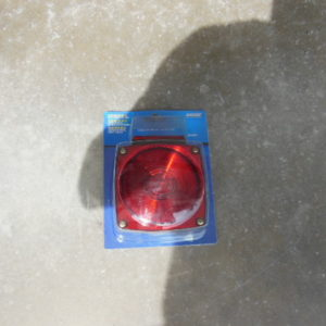 Trailer Light Square Lens