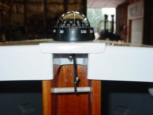 Deck Compass and Mount