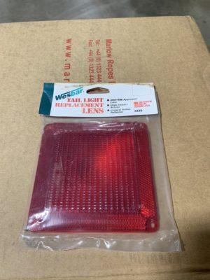 Square Trailer Light Lens