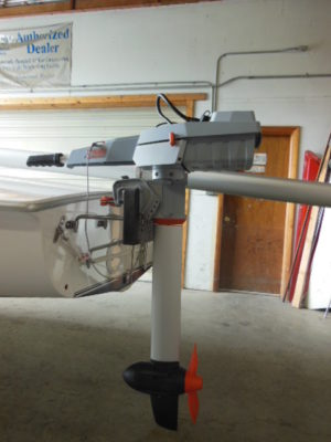 Sailboat Motor Mount