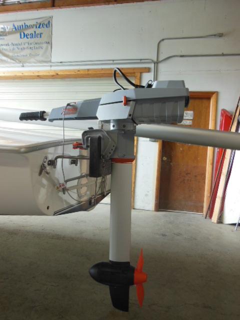 New Flying Scot Sailboat Motor Bracket Mount Kit