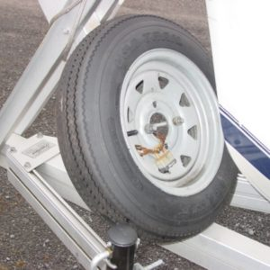 spare tire mount and lock
