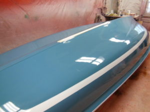 custom color sailboat