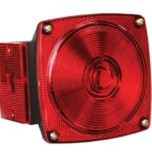 Square Trailer Light