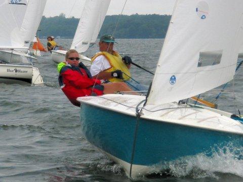 Flying Scot Daysailing Sailboat