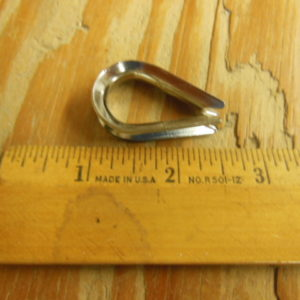 Large Stainless Steel Thimble