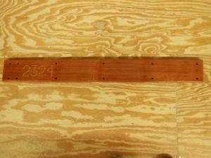 Centerboard Trunk Cap