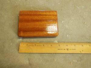 Mahogany Block