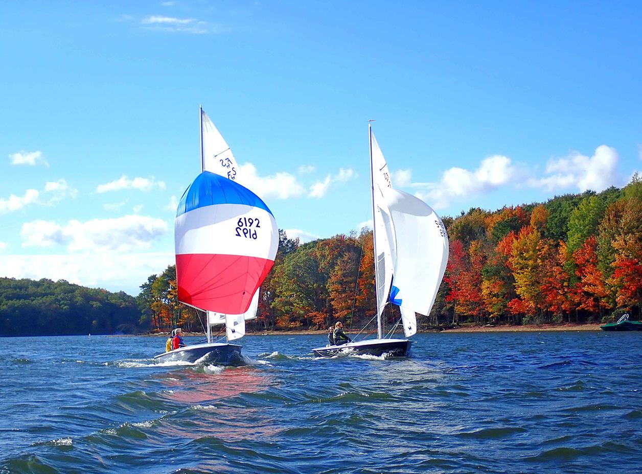 USA Racing Sailboat
